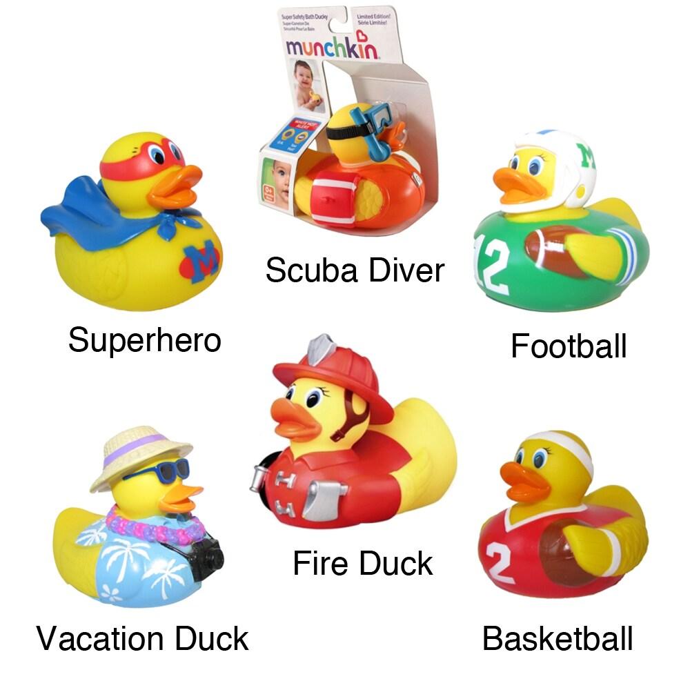 Shop Munchkin White Hot Super Safety Bath Ducky (Boy Designs) - Free ...