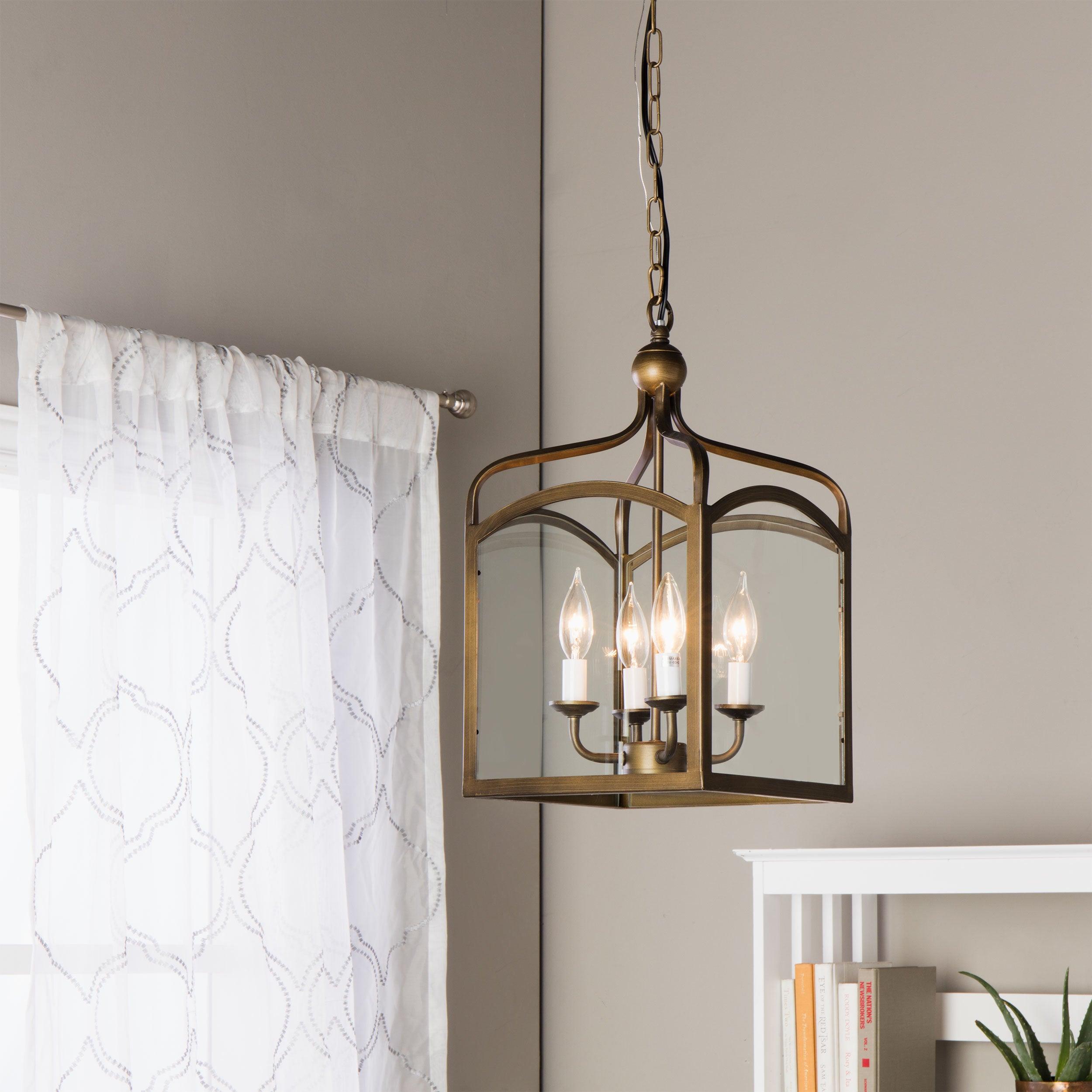 lighting hanging. Ashley Bronze 4-light Foyer Hanging Lantern - Free Shipping Today Overstock 14974443 Lighting