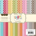 "Sn@p! Color Vibe Collection Paper Pad 6""X6"" 36 Sheets-"
