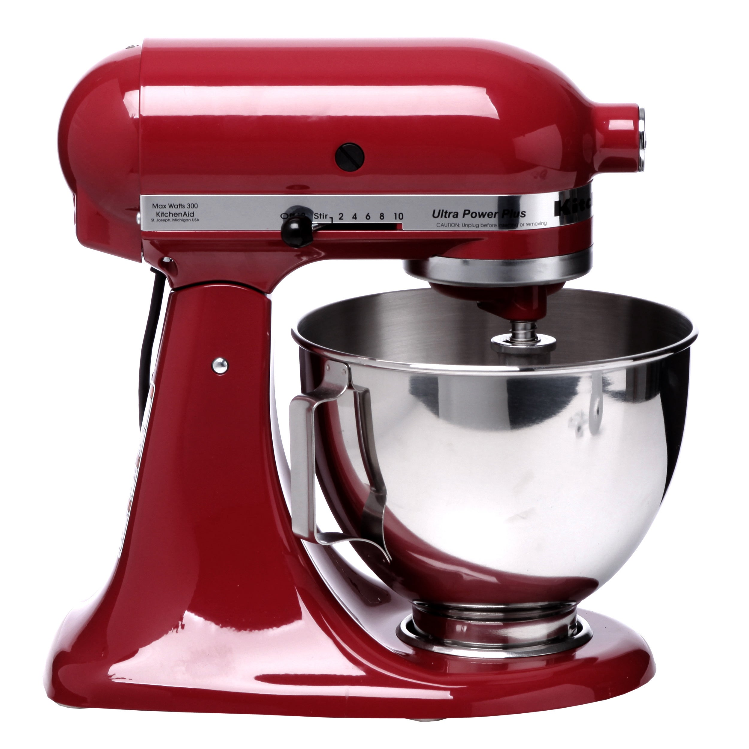 Kitchenaid Ksm100pser Empire Red 4 5 Quart Ultra Plus Stand Mixer Free Shipping Today 14981034
