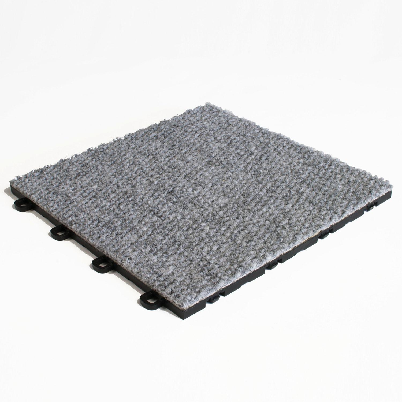 Blocktile 12x12 Inch Interlocking Premium Gray Carpet Tiles 20 Tile Pack Free Shipping Today 7547397