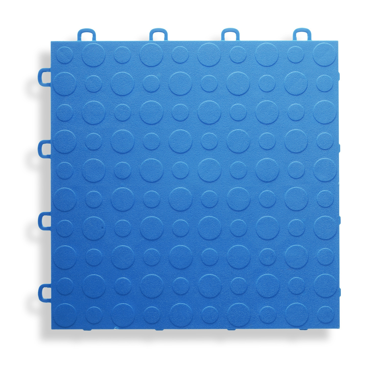 BlockTile Garage Flooring Interlocking Coin Top Tiles (Pack of 30 ...