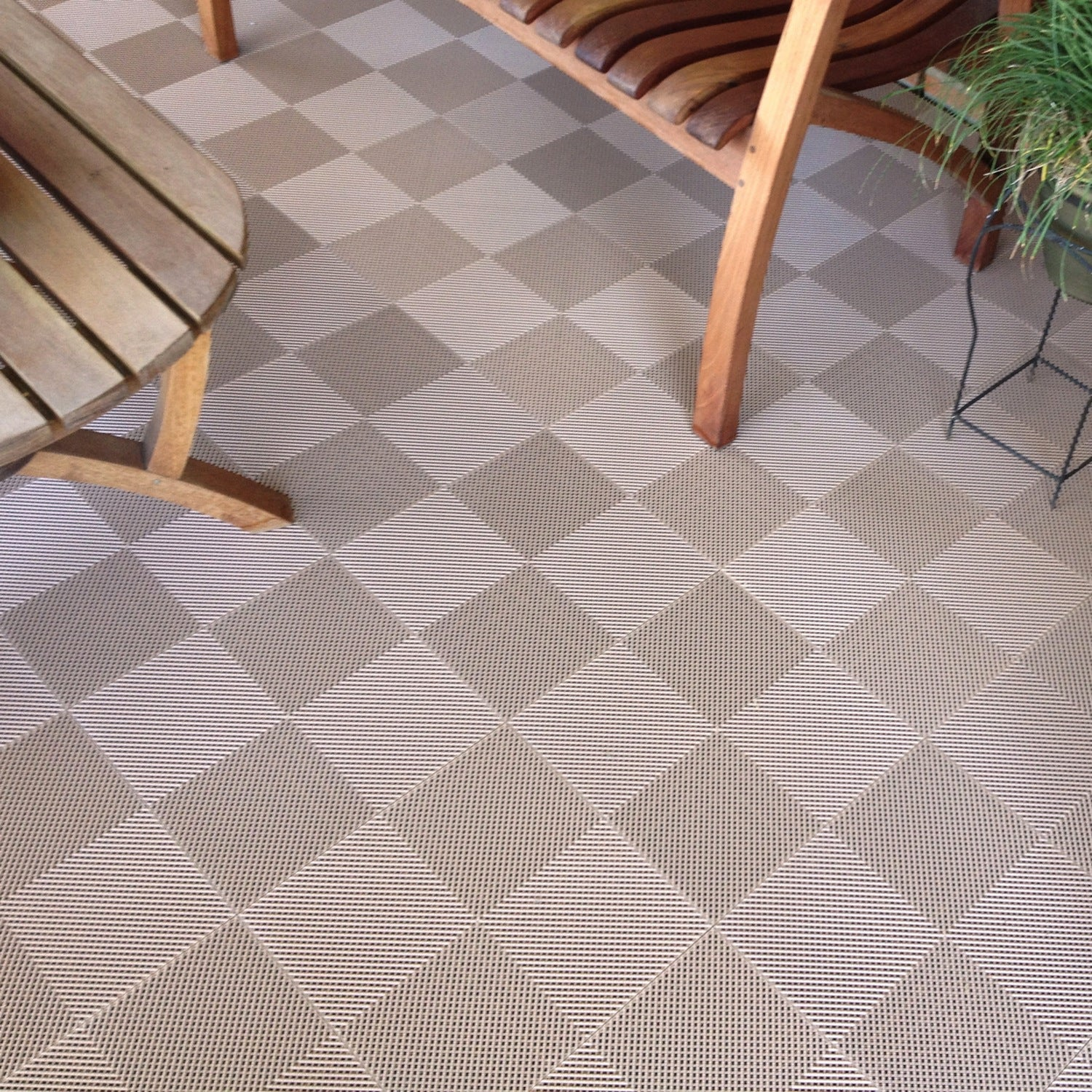 BlockTile Deck and Patio Flooring Interlocking Perforated Tiles ...