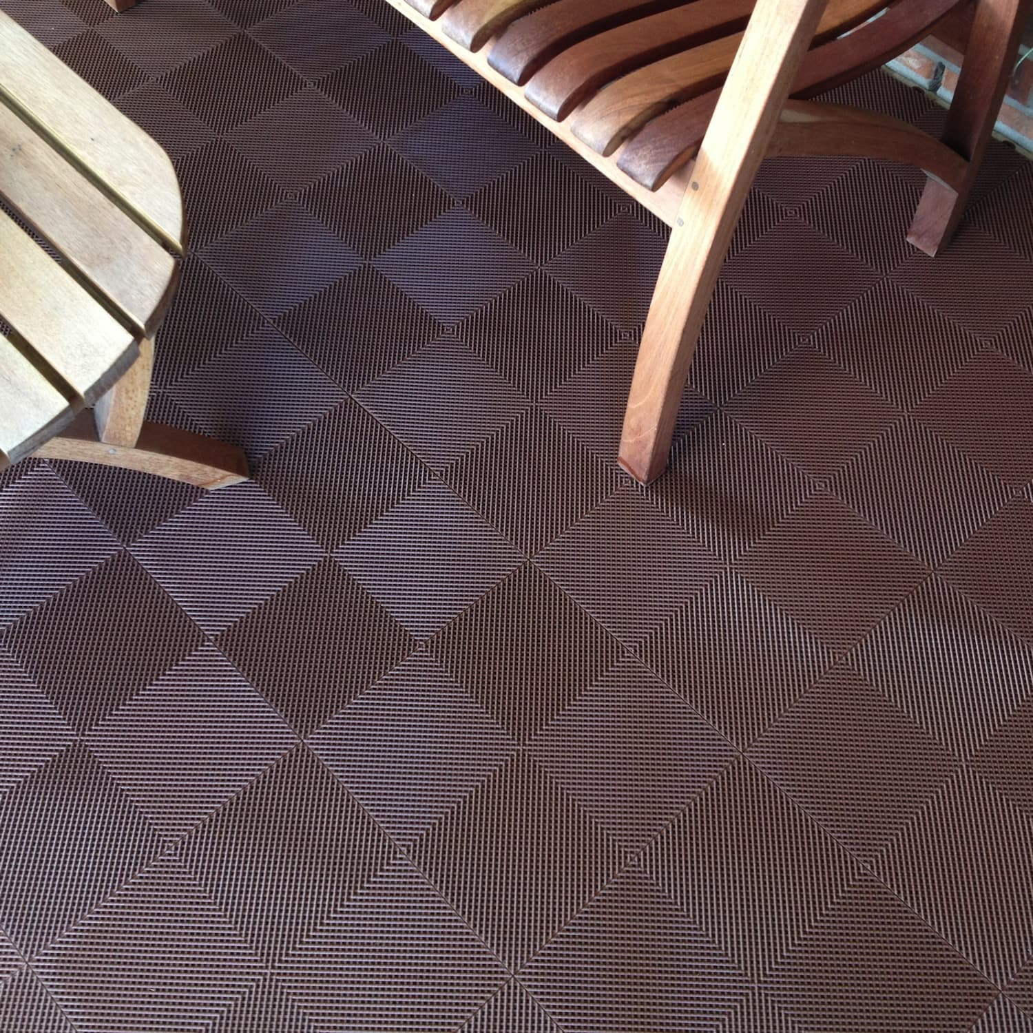 Blocktile Deck And Patio Flooring Interlocking Perforated Tiles Pack Of 30 Free Shipping Today 7549280
