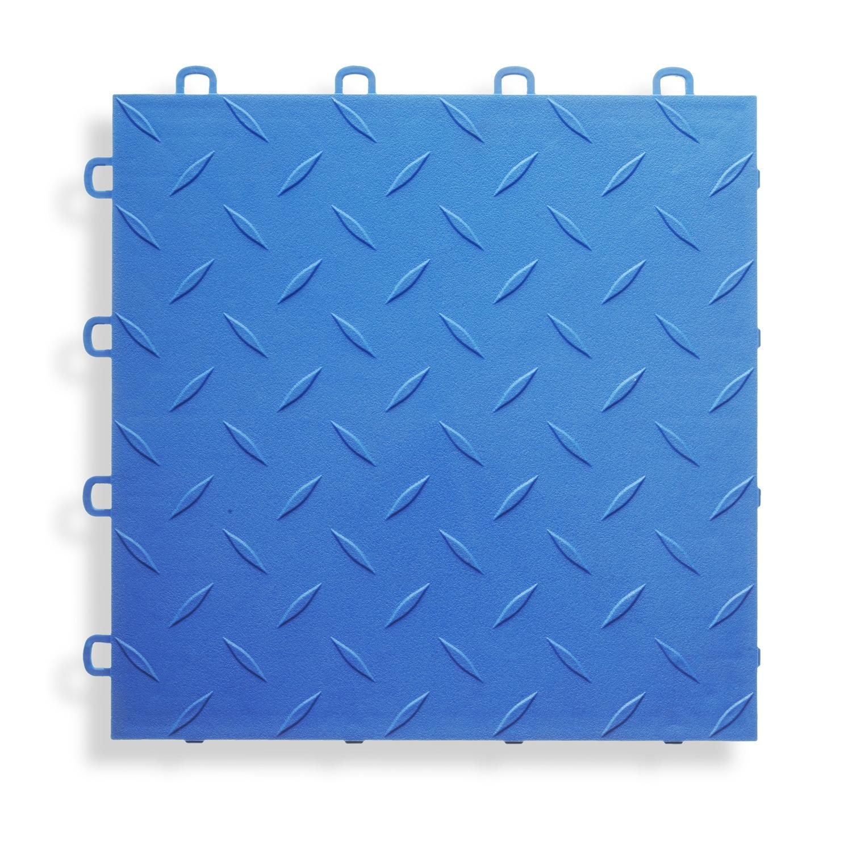 BlockTile Garage Flooring Interlocking Diamond Top Tiles (Pack of 27 ...