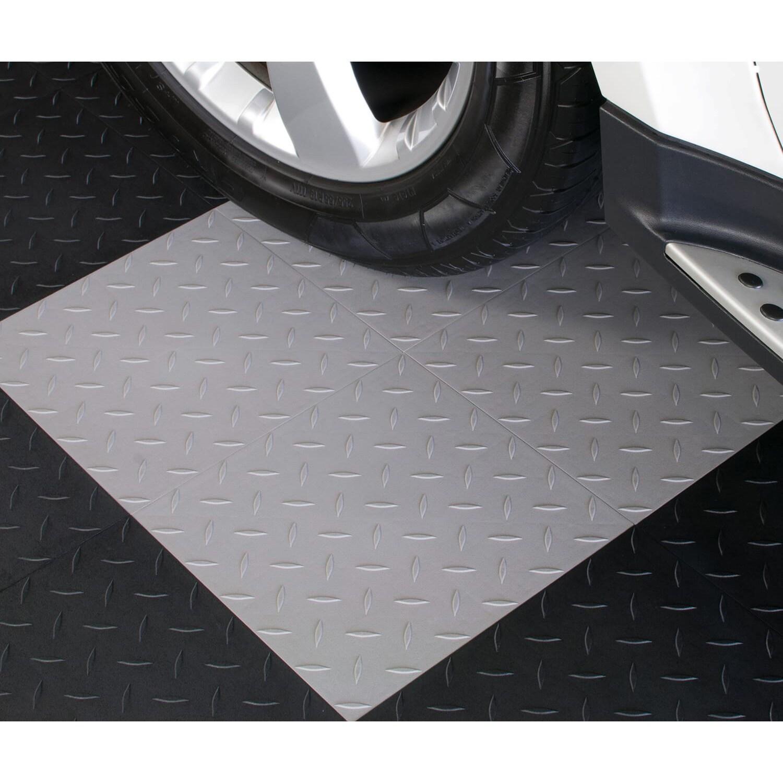 Blocktile garage flooring interlocking diamond top tiles pack of blocktile garage flooring interlocking diamond top tiles pack of 27 free shipping today overstock 14982457 dailygadgetfo Gallery