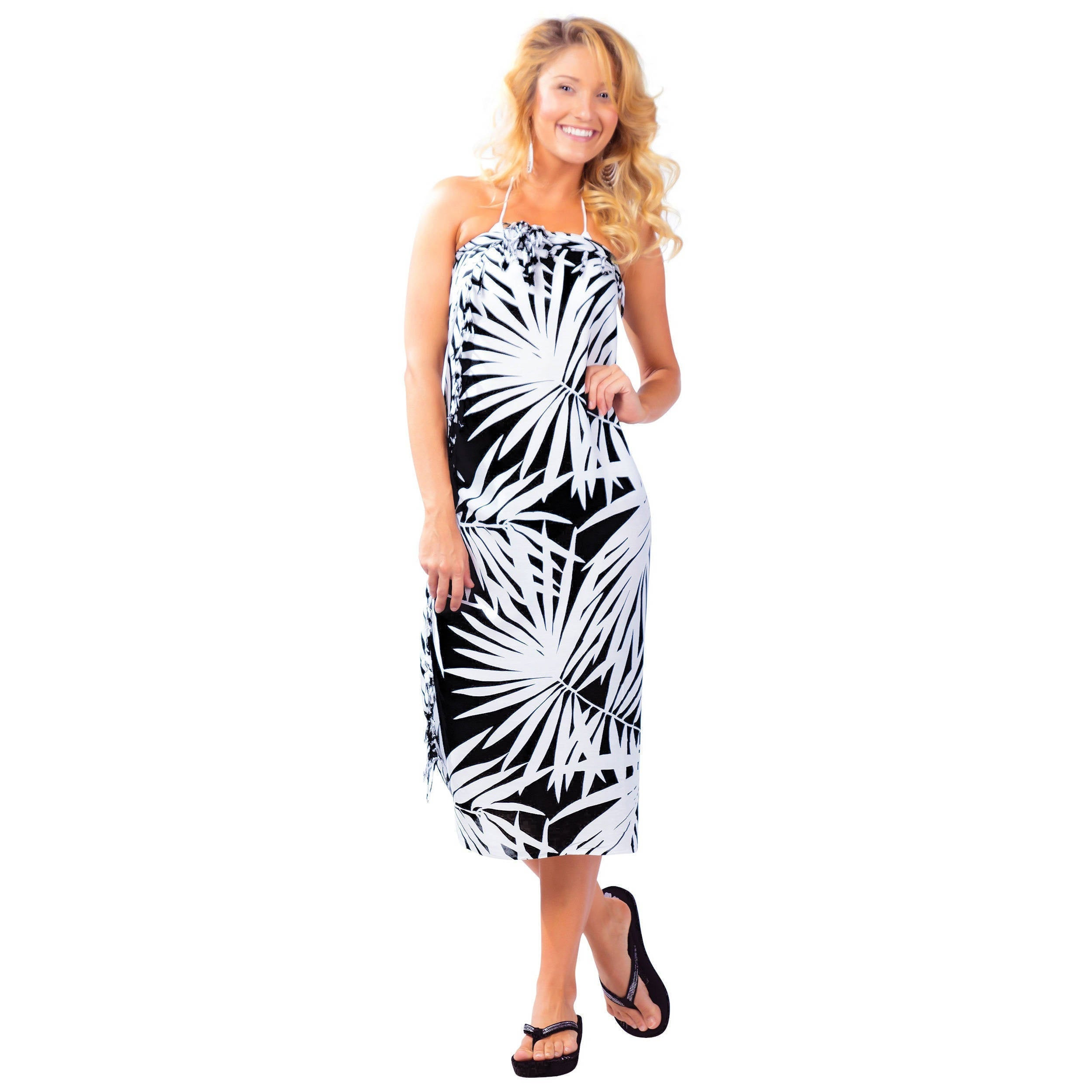 b16b4034c0bc2 Shop Handmade 1 World Sarongs Women's Hawaiian Style Floral Wrap Sarong  (Indonesia) - On Sale - Free Shipping On Orders Over $45 - Overstock -  7554150