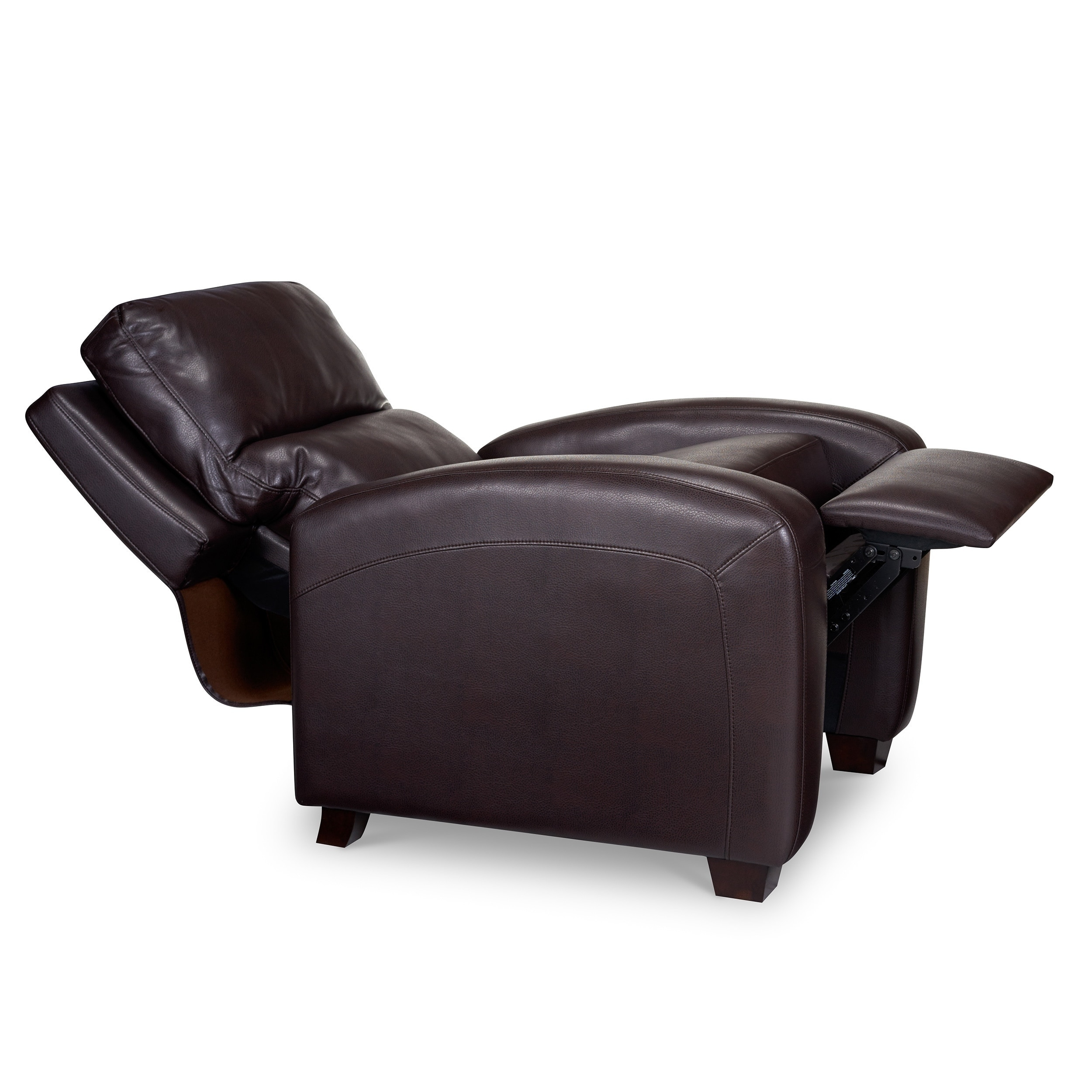 brice bonded leather recliner free shipping today overstock