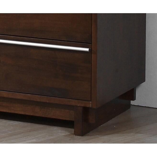 Shop Kaminski Wenge Finish 6 Drawer Dresser   Free Shipping Today    Overstock.com   7559697