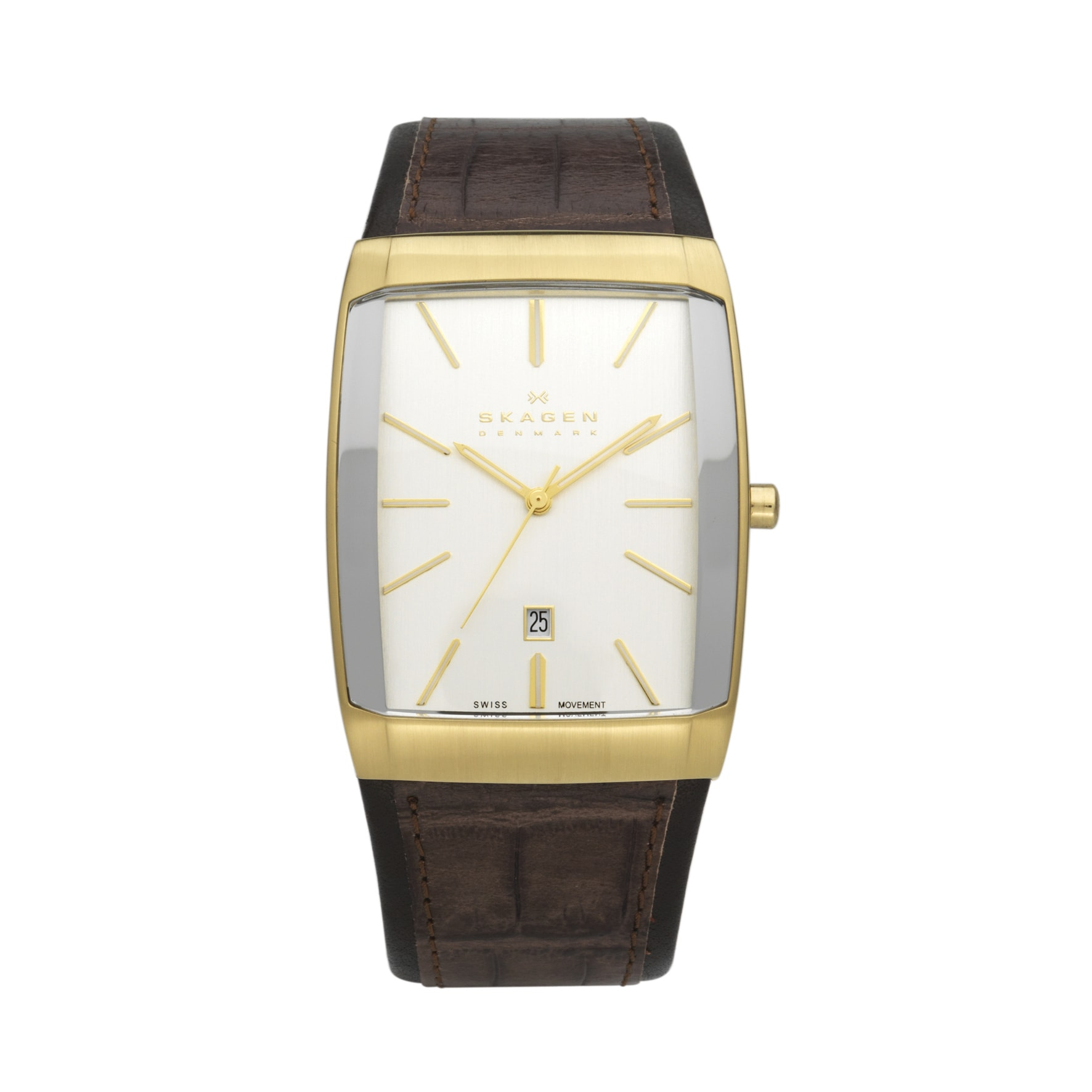 watch rectangular com band watches white men walmart face gold seiko dial leather s ip rectangle