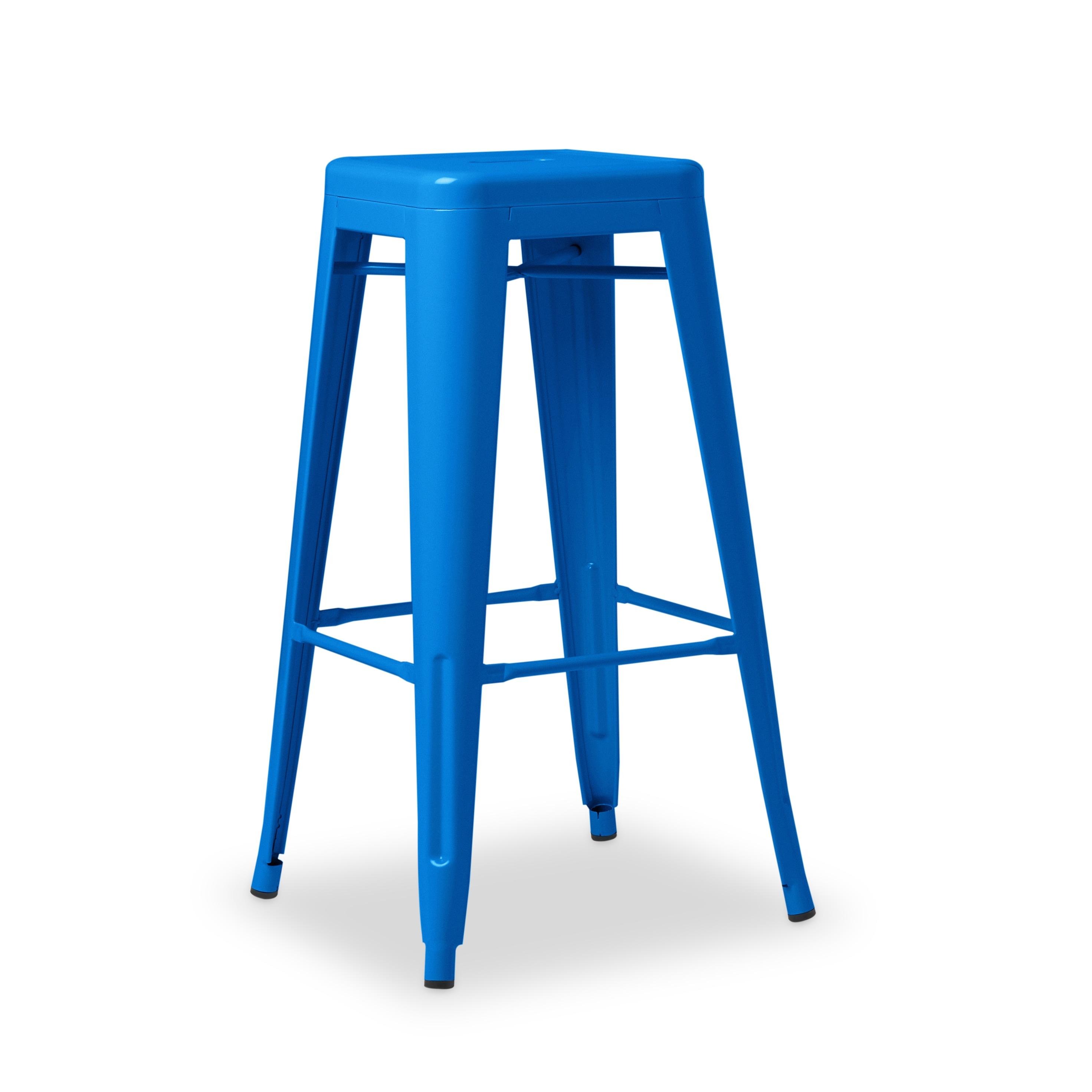Carbon Loft Tabouret 30 Inch Baja Blue Metal Bar Stools (Set Of 2)   Free  Shipping Today   Overstock.com   14995154