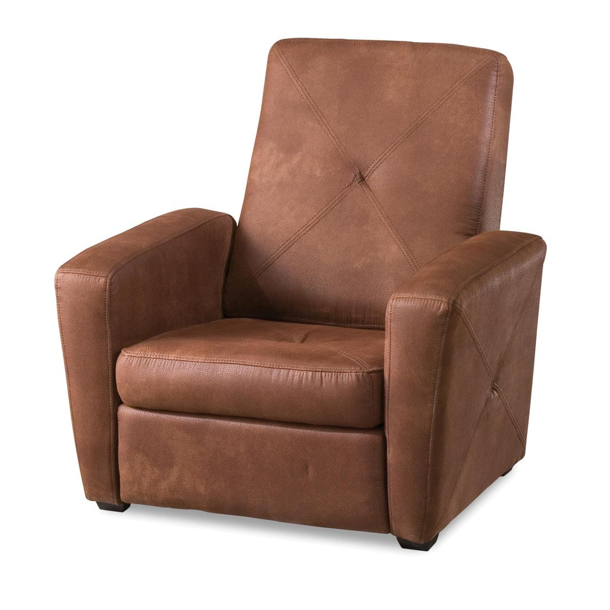 Shop rustic brown microfiber foldable gaming chair free shipping today overstock com 7569466