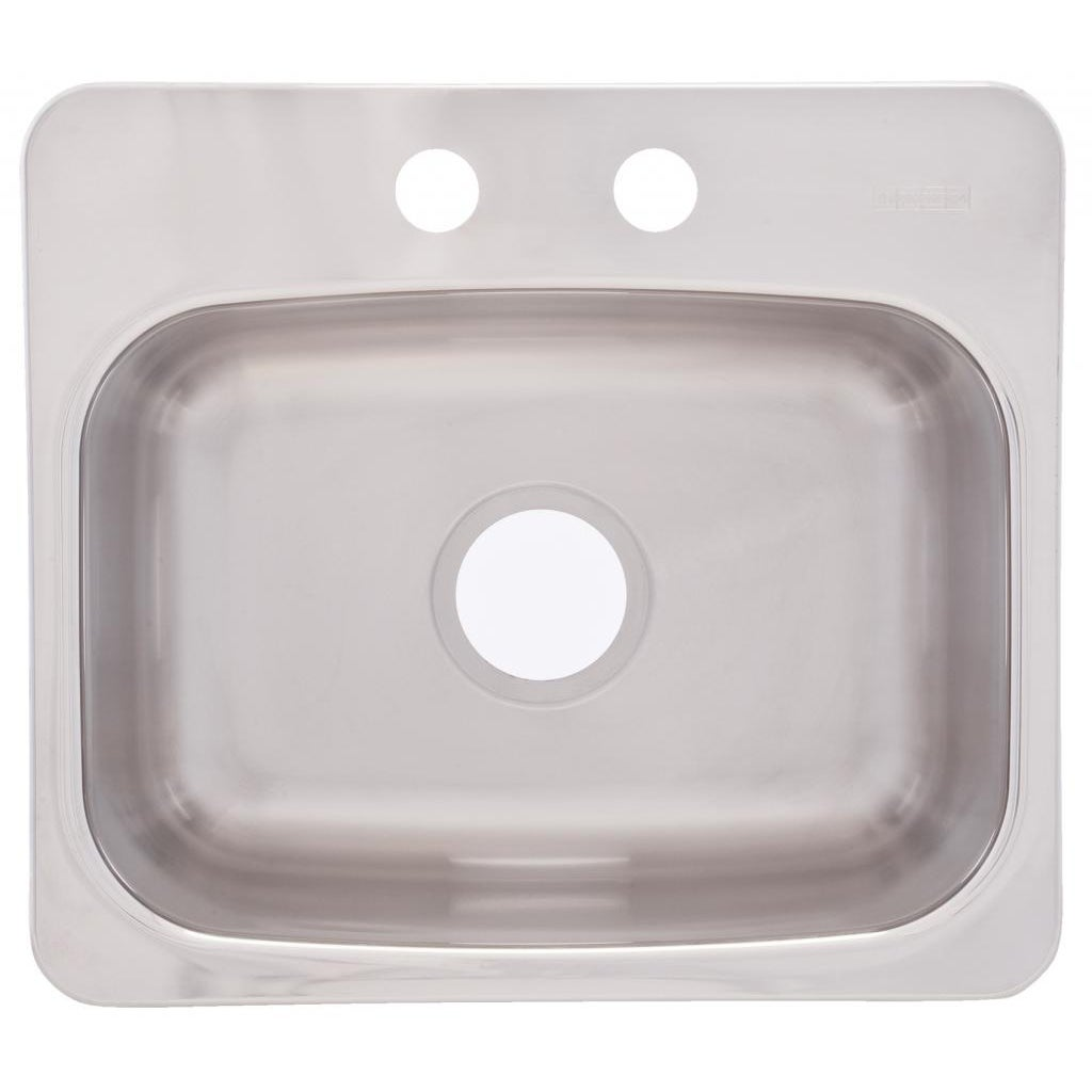 franke dual mount 8 inch deep stainless steel bar sink   free shipping today   overstock com   14999932 franke dual mount 8 inch deep stainless steel bar sink   free      rh   overstock com