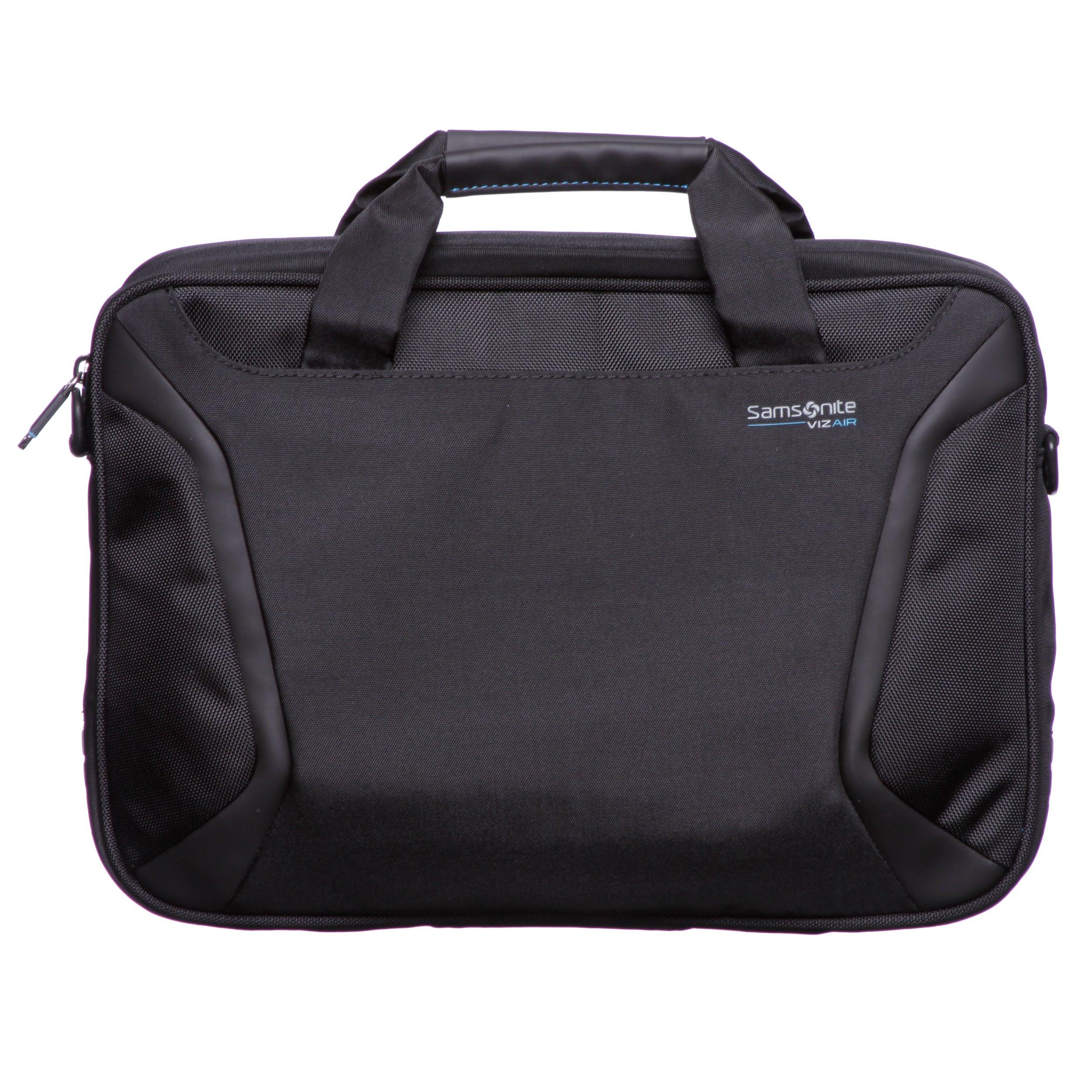 4ef418b9ca2e Samsonite VIZ AIR Slim Soft Laptop Briefcase