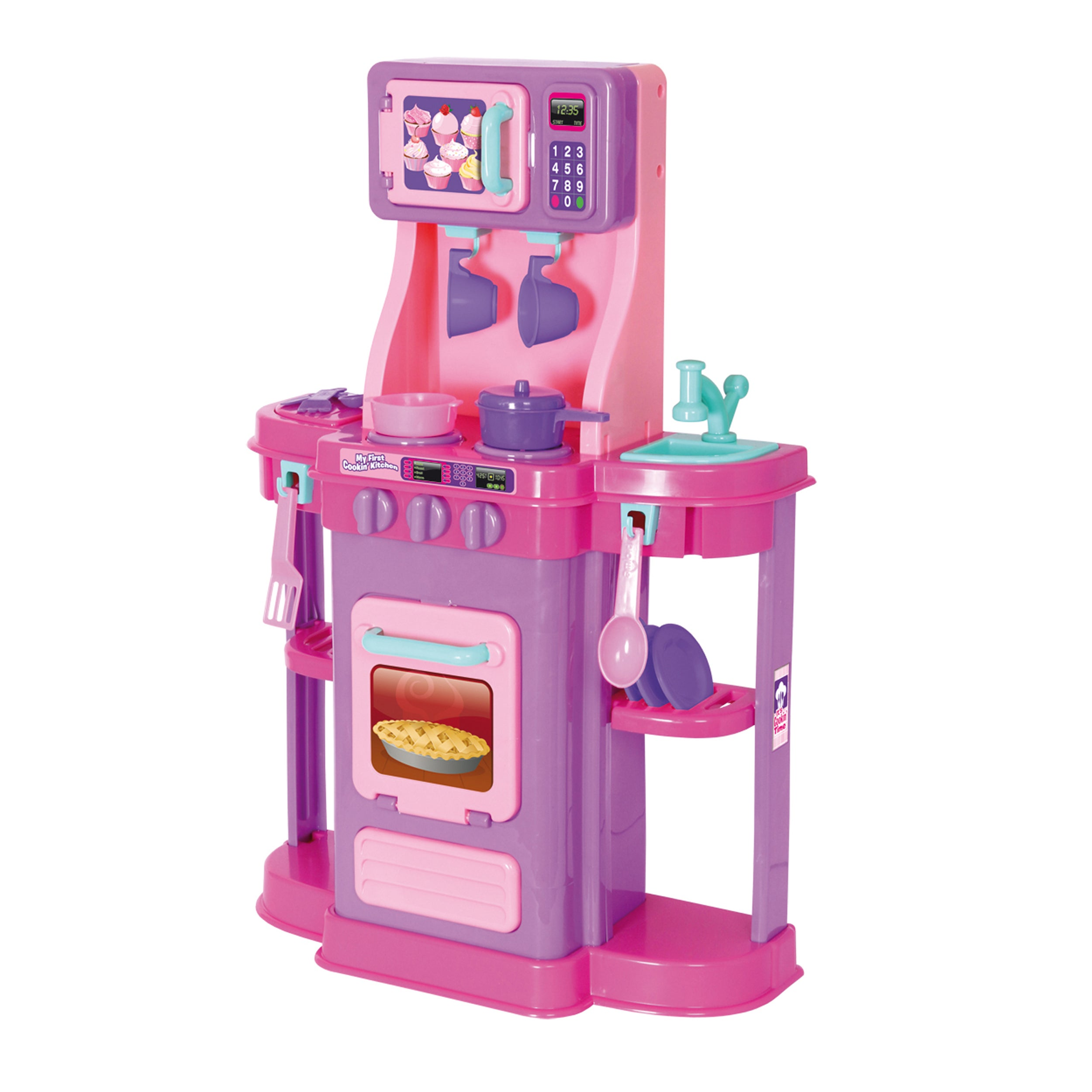 Amloid My First Cookin Kitchen Playset Free Shipping Today 7578224