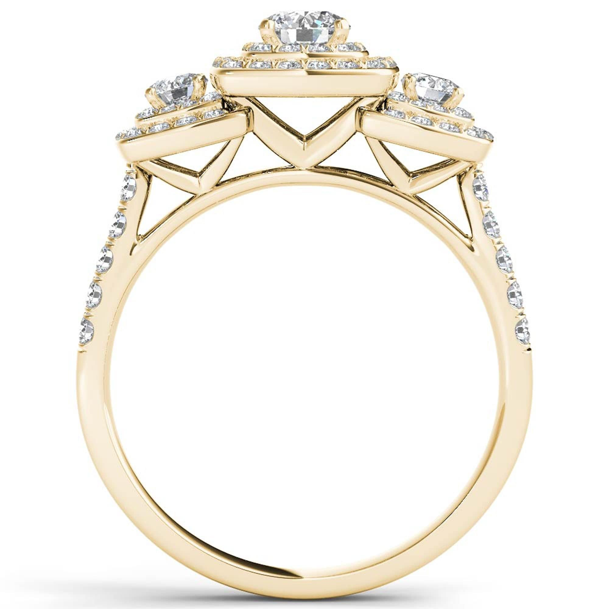 zoom halo with ring engagement il cushion double diamond listing shank fullxfull split def color