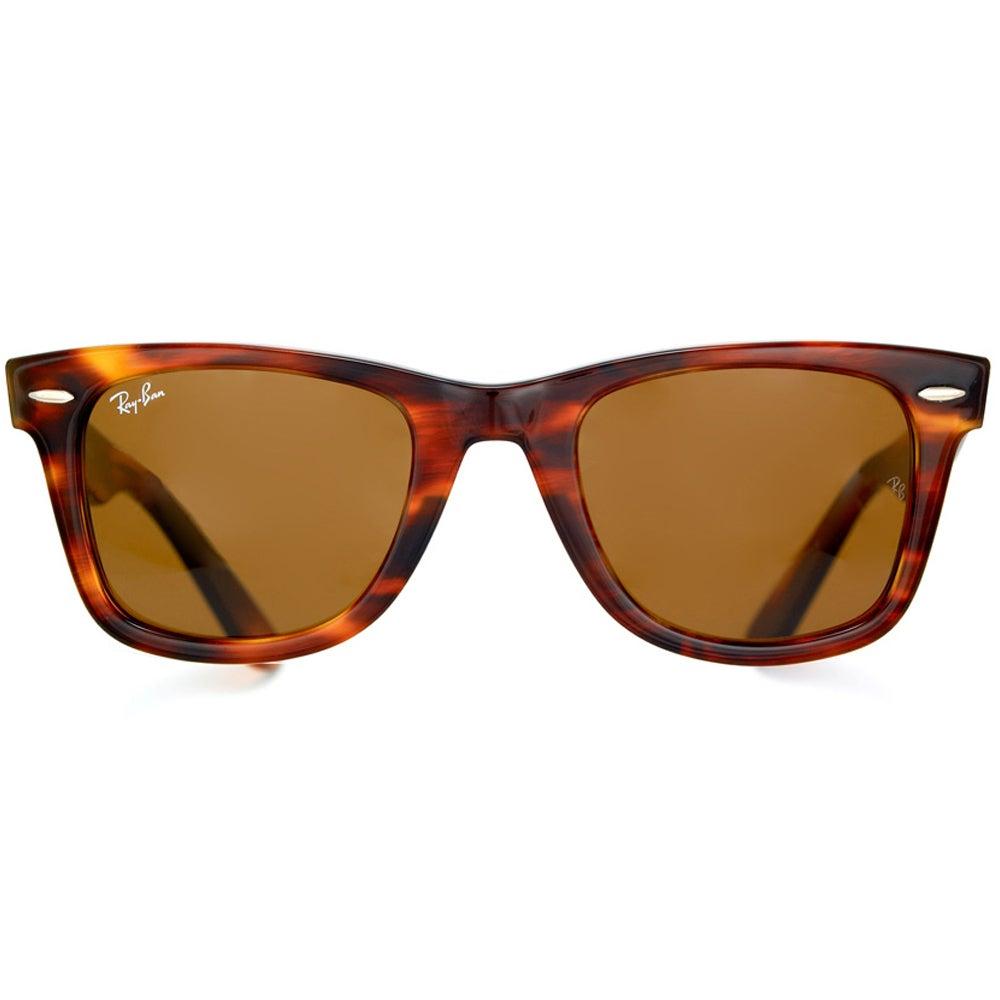 06f6b32cefda3 Shop Ray-Ban Unisex RB2140 Original Wayfarer Light Tortoise Sunglasses -  Free Shipping Today - Overstock - 7584027