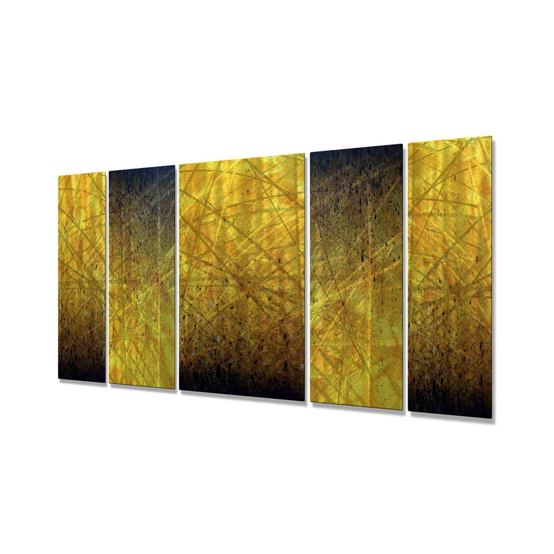Shop Justin Strom \'Embers\' Metal Wall Art - On Sale - Free Shipping ...