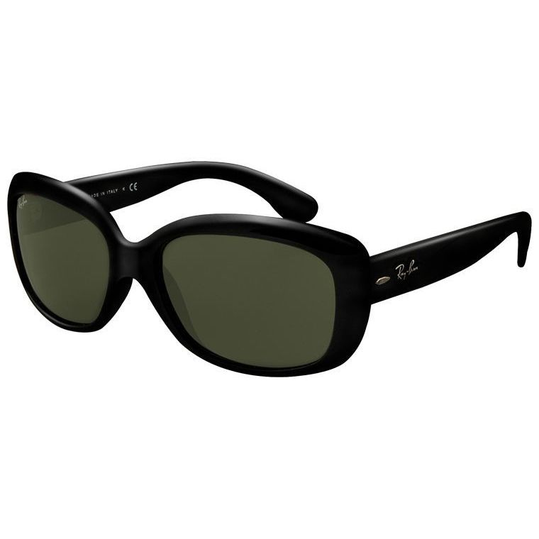 d821e54808 Shop Ray-Ban Jackie Ohh RB4101 Women s Black Frame Green Lens Sunglasses -  Free Shipping Today - Overstock - 7586054