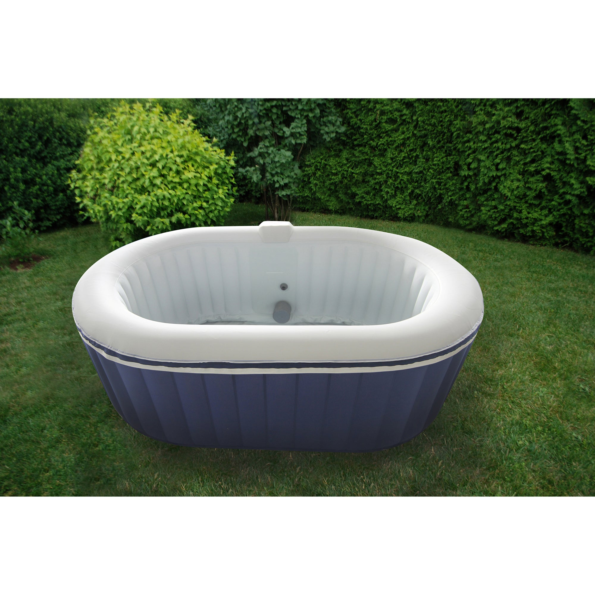 Shop TheraPureSpa Portable Inflatable Hot Tub - Free Shipping Today ...