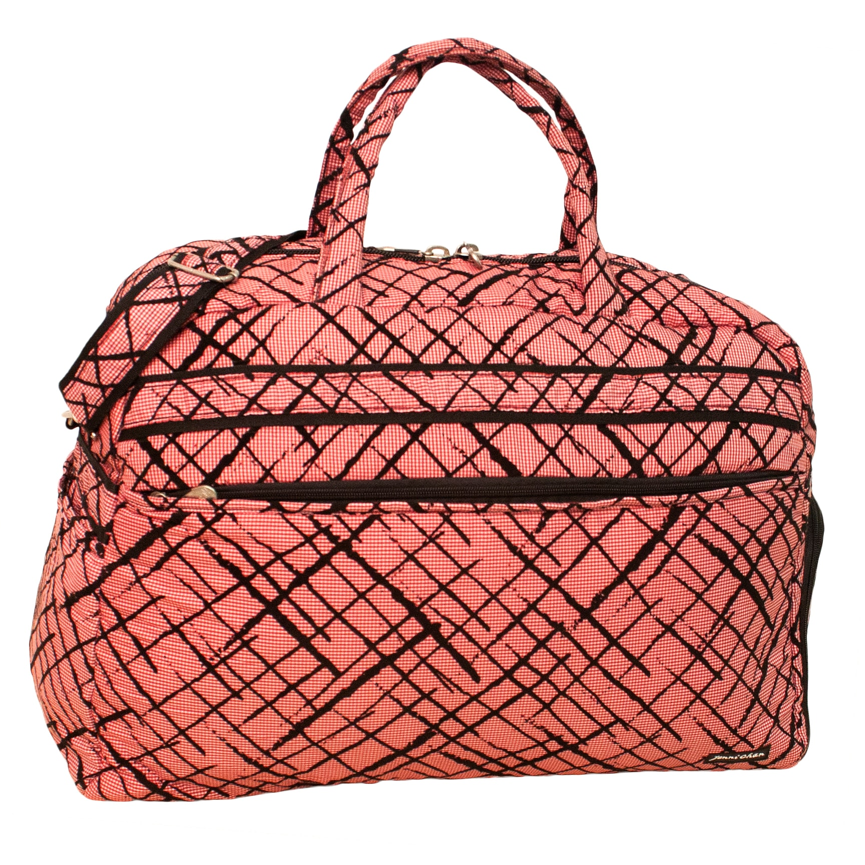 361c525939a6 Jenni Chan Women s Brush Strokes 20-inch Carry On Soft Gym Duffel Bag