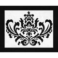Sweet JoJo Designs 'Isabella' Damask Accent Floor Rug