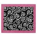 Sweet JoJo Designs Pink and Black Madison Cotton Floor Rug