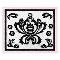 Sweet JoJo Designs Pink Border Sophia Floor Rug