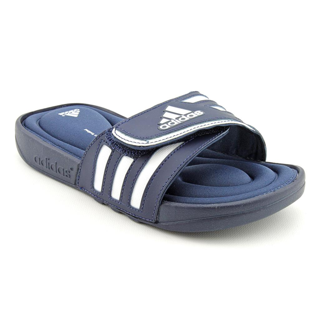 a489ec332a28 Shop Adidas Boy s  Adissage FitFOAM K  Man-Made Sandals - Ships To Canada -  Overstock - 7608817