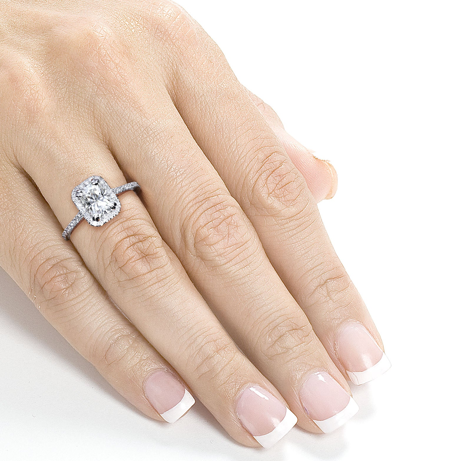 rings pave carat ring style er vintage g sold watch diamond engagement halo radiant cut