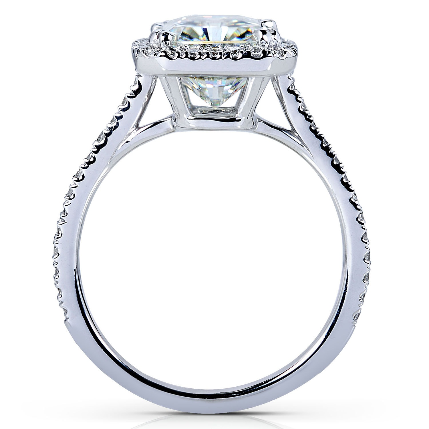 pin tonycollection engagement ring rings rectangular pinterest