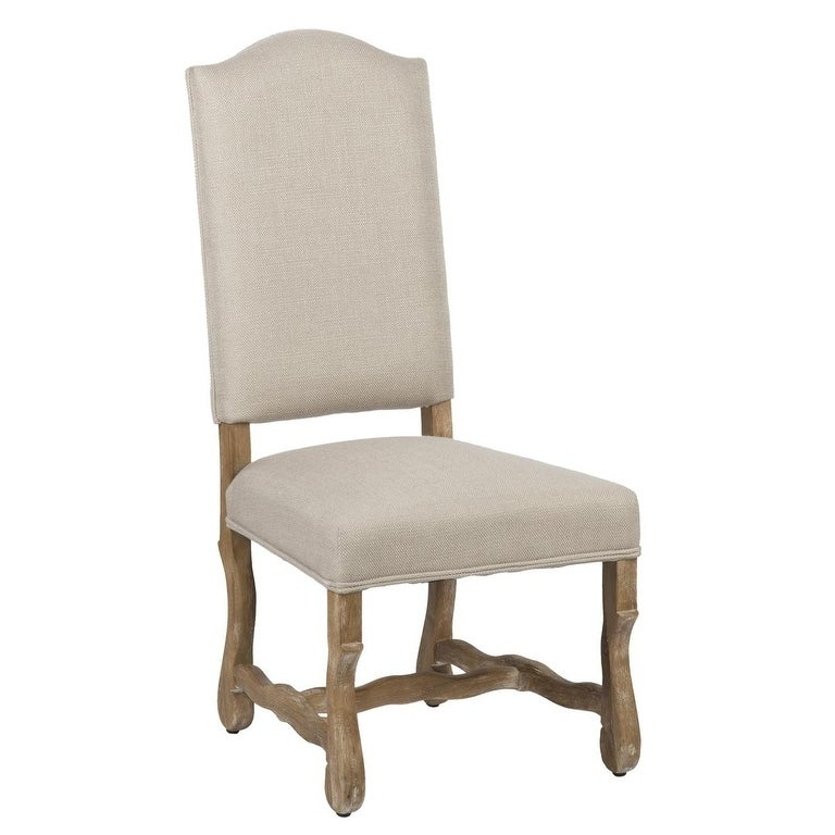 Shop Casper Upholstered Sand Dining Chair By Kosas Home   Free Shipping  Today   Overstock.com   7619158