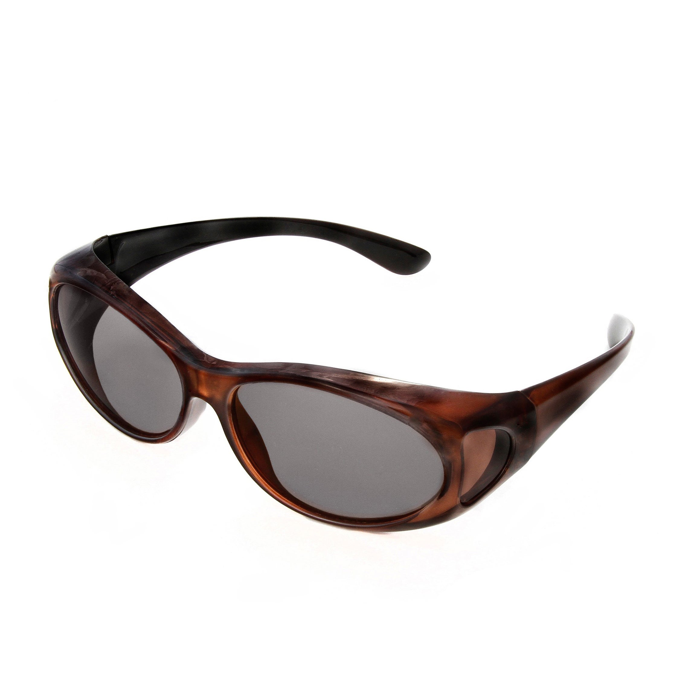 d836c86300 Shop Hot Optix Women s Polarized Over-the-Glass Wrap Sunglass - Free  Shipping On Orders Over  45 - Overstock - 7628890