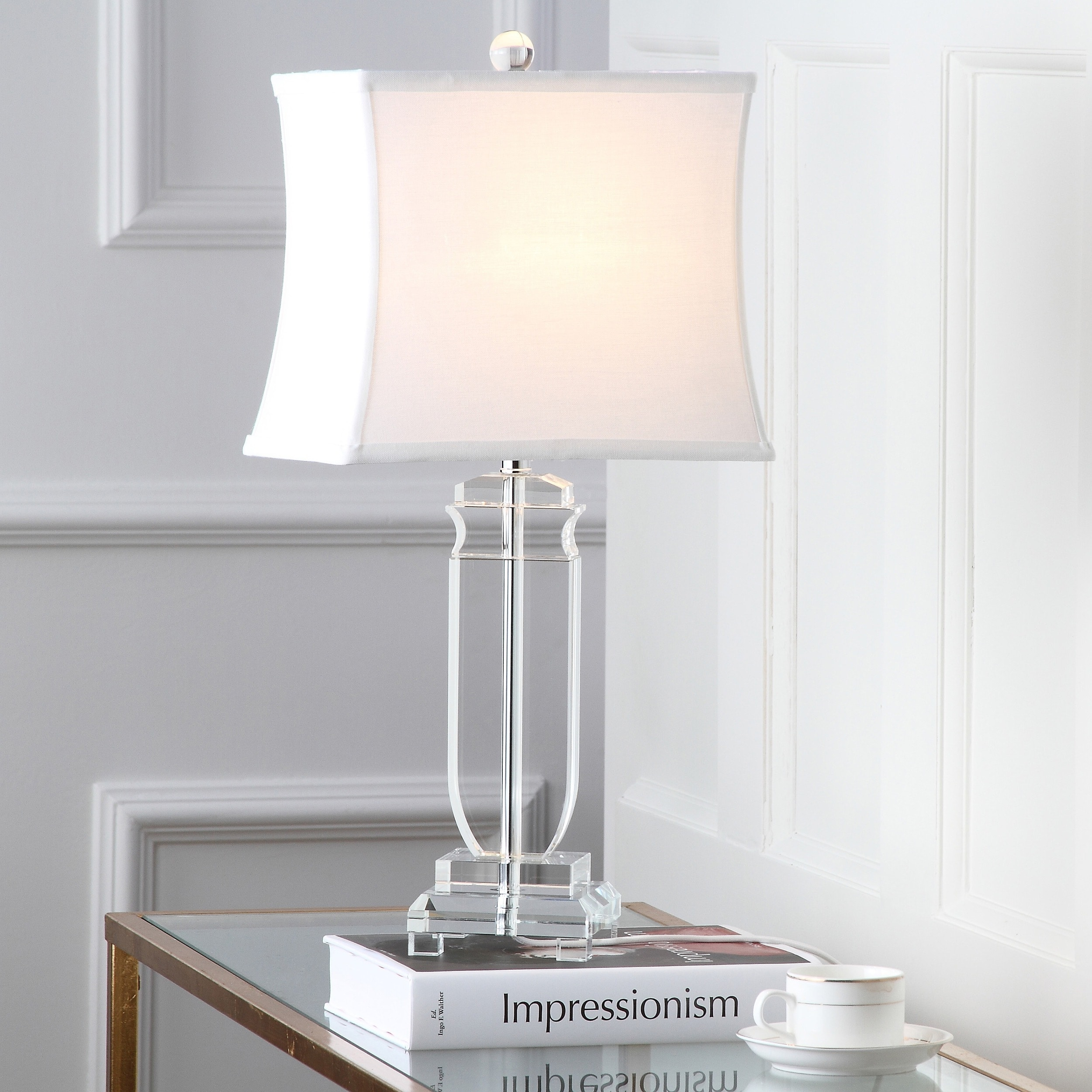 Safavieh Lighting 25 Inch Olympia Crystal Table Lamp (Set Of 2)   Free  Shipping Today   Overstock.com   15055440