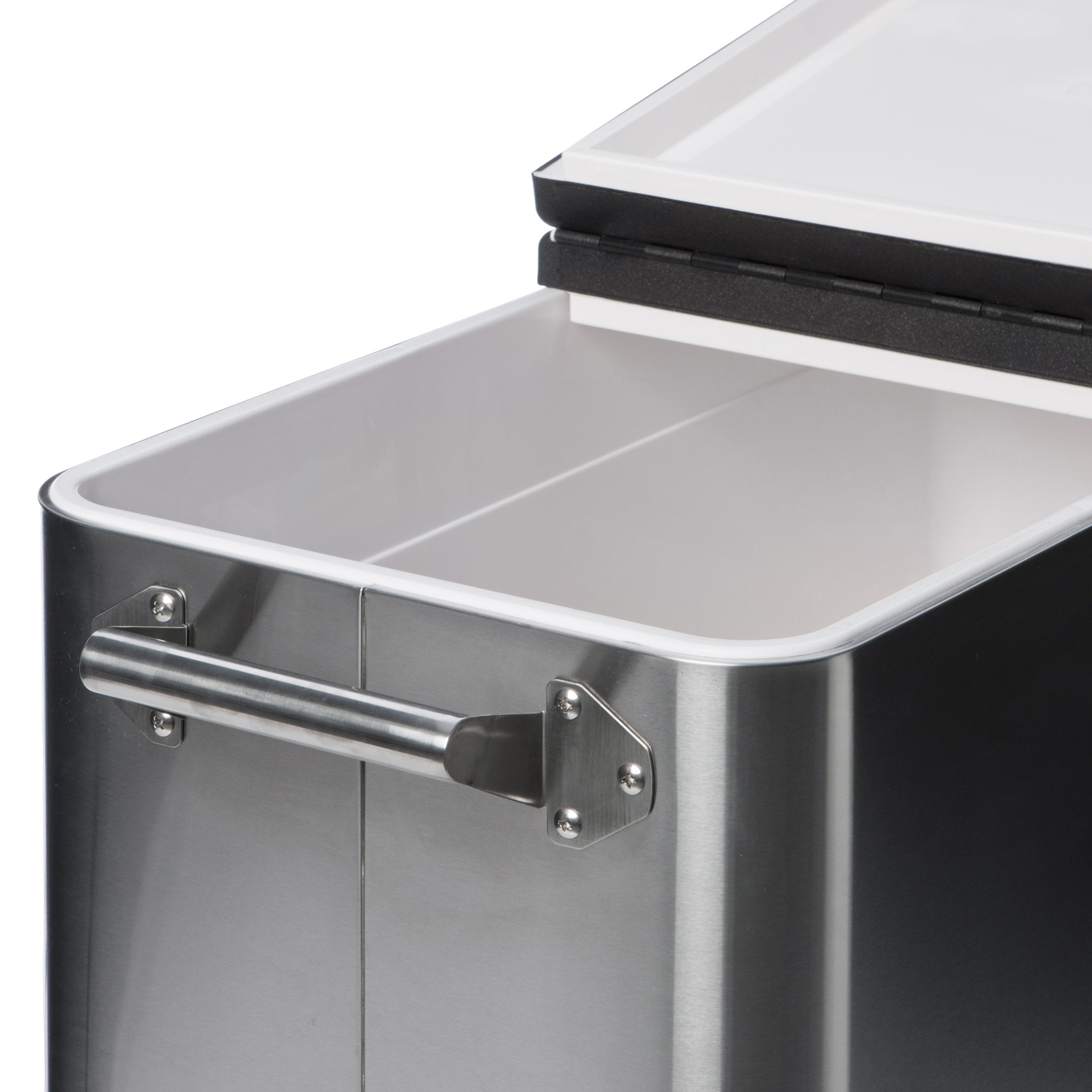 Trinity Stainless Steel Cooler With Shelf Free Shipping Today 7638015