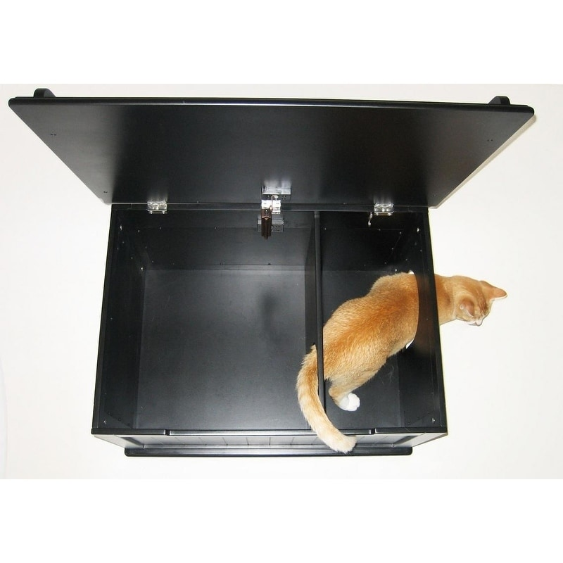 Designer Catbox Hidden Litter Box Enclosure Furniture Free Shipping Today 7638119