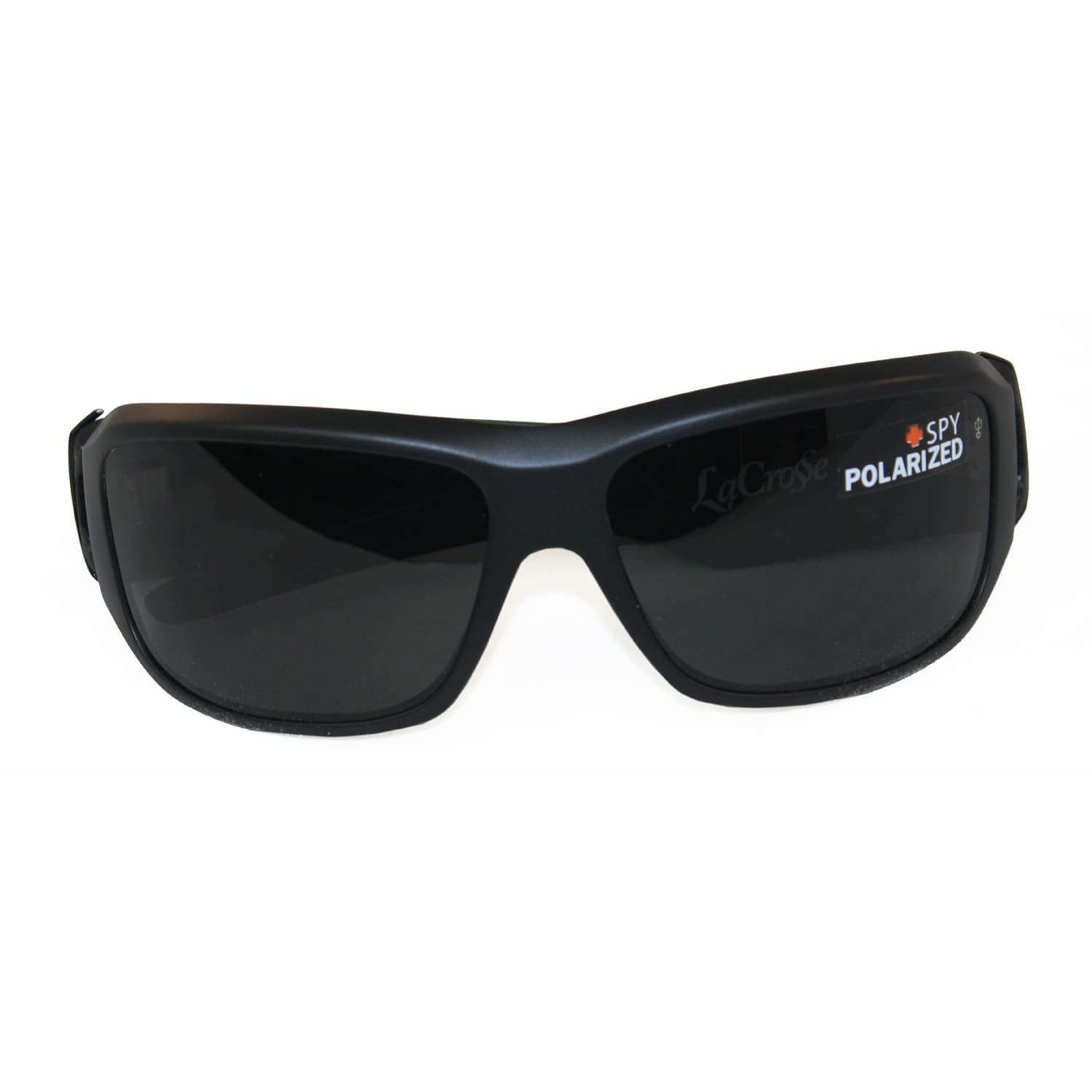 ad1364e268 Shop Spy Optic Men s  Lacrosse  Matte Black Polarized Sunglasses - Free  Shipping Today - Overstock - 7639661