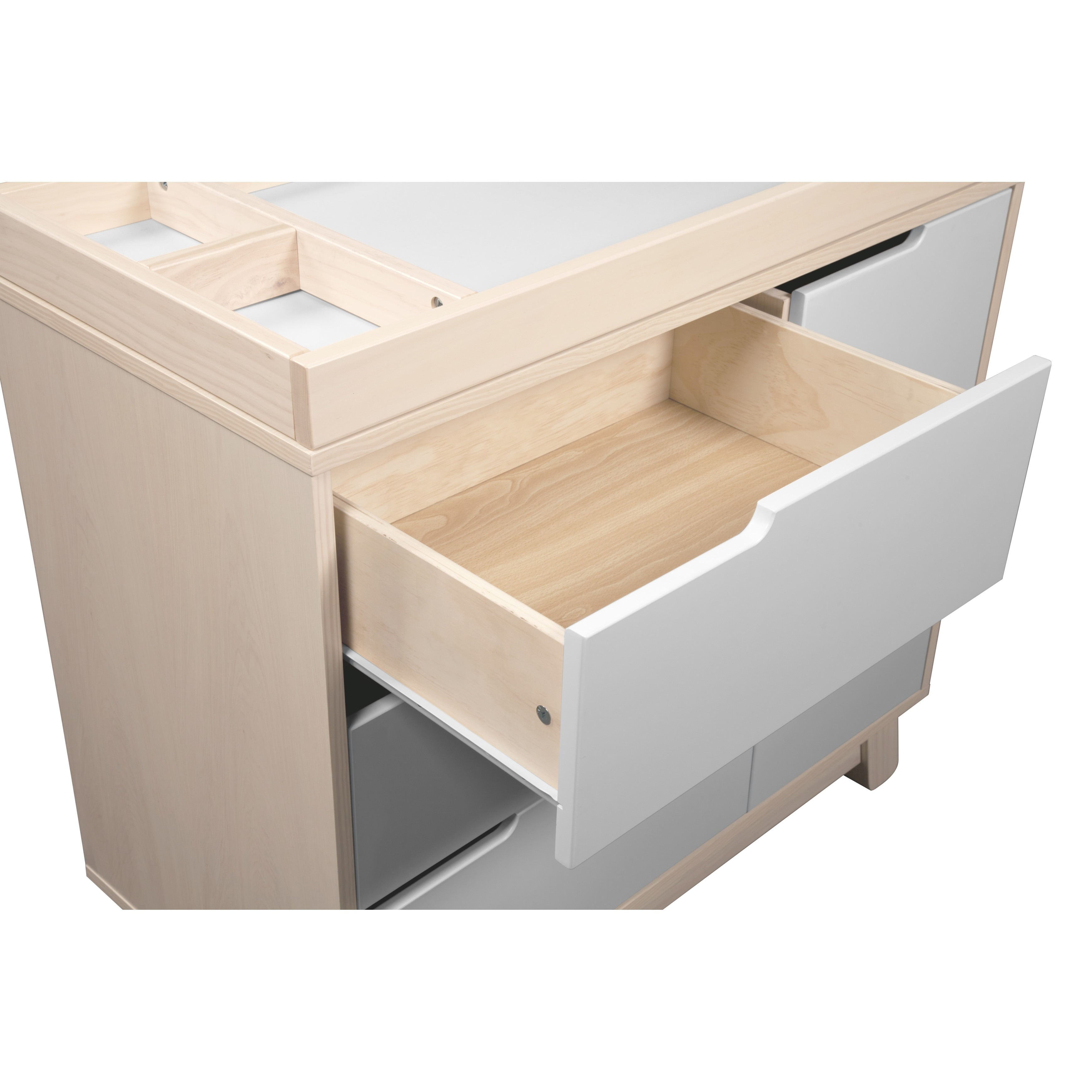 Shop Babyletto Hudson 3 Drawer Changer Dresser With Removable Changing Tray    Free Shipping Today   Overstock   7641799