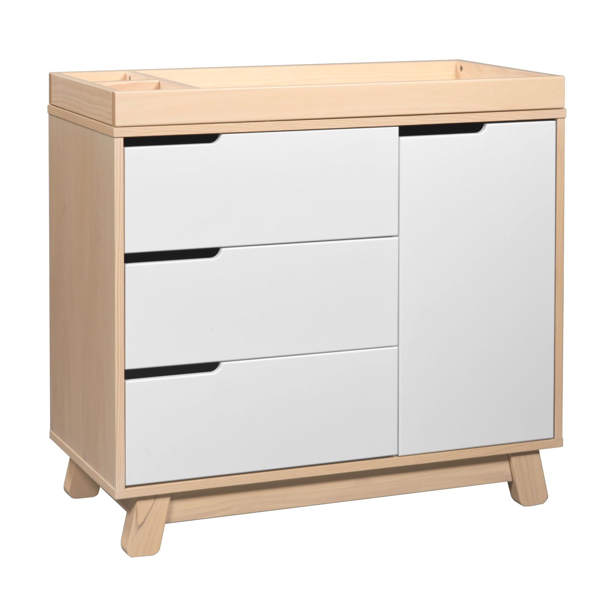Shop Babyletto Hudson 3 Drawer Changer Dresser With Removable Changing Tray    Free Shipping Today   Overstock.com   7641799