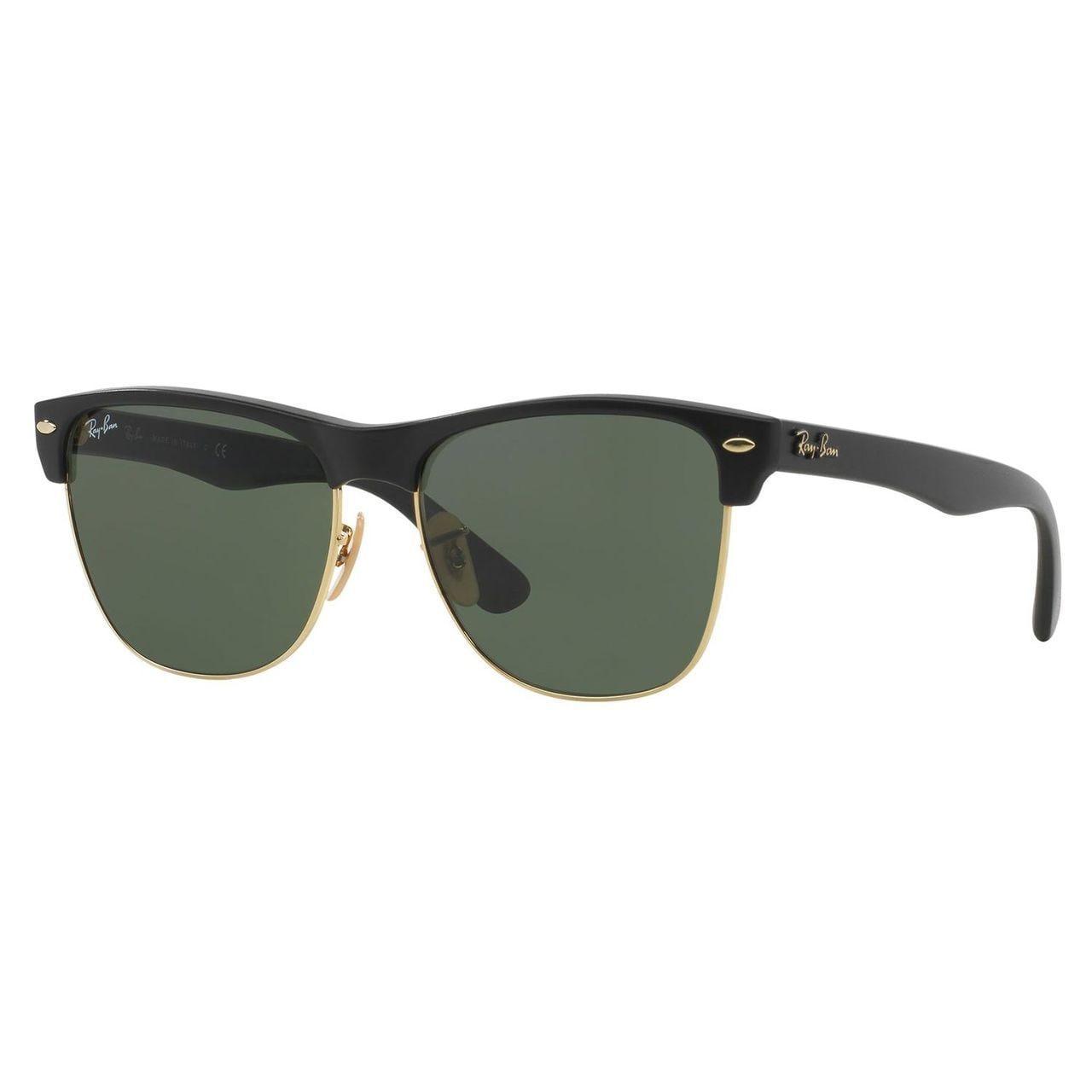 bea0faa2acae Shop Ray-Ban Women s  Clubmaster  Matte Black Wayfarer Sunglasses ...