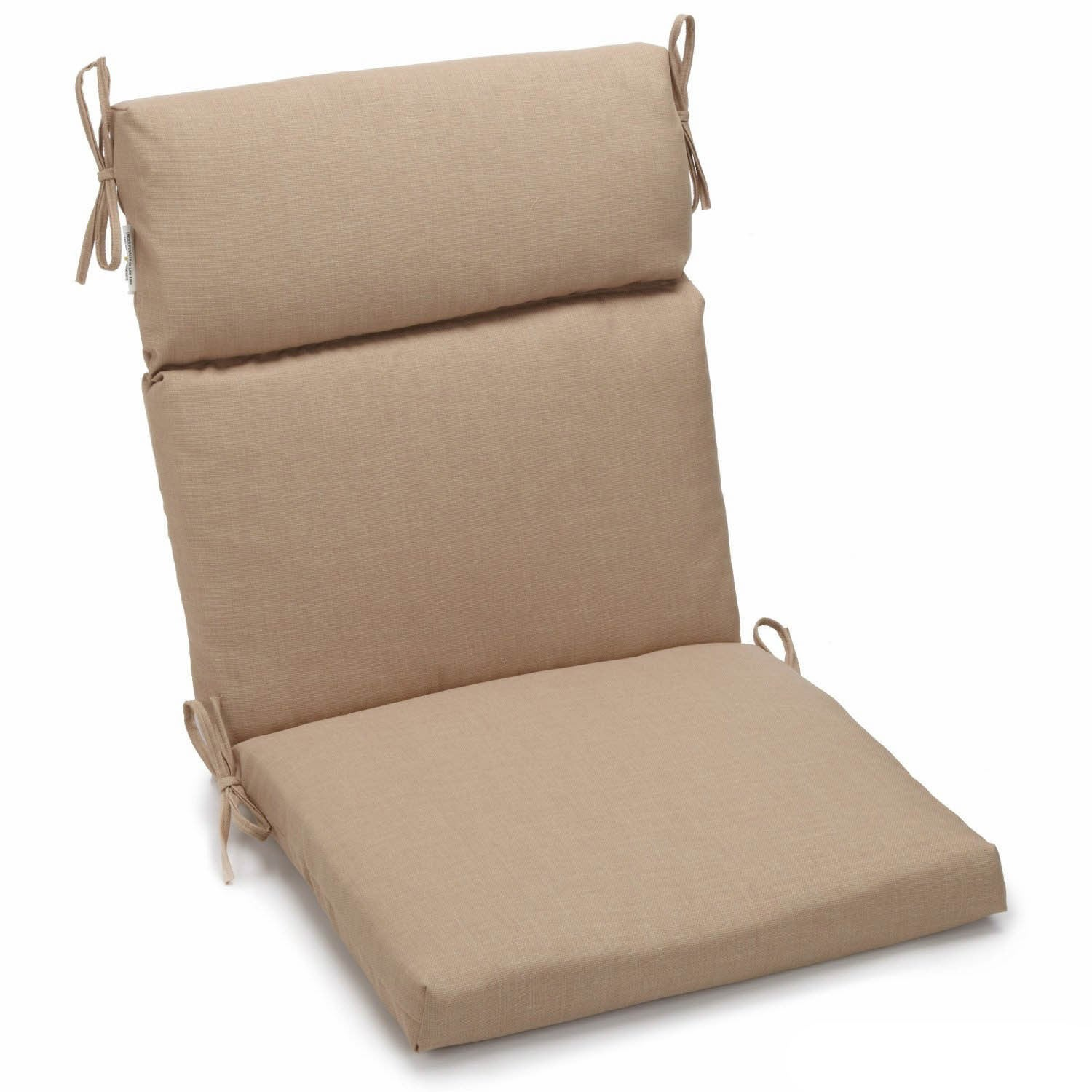 Blazing Needles Seat And Back Outdoor Chair Cushion   Free Shipping Today    Overstock   15065685