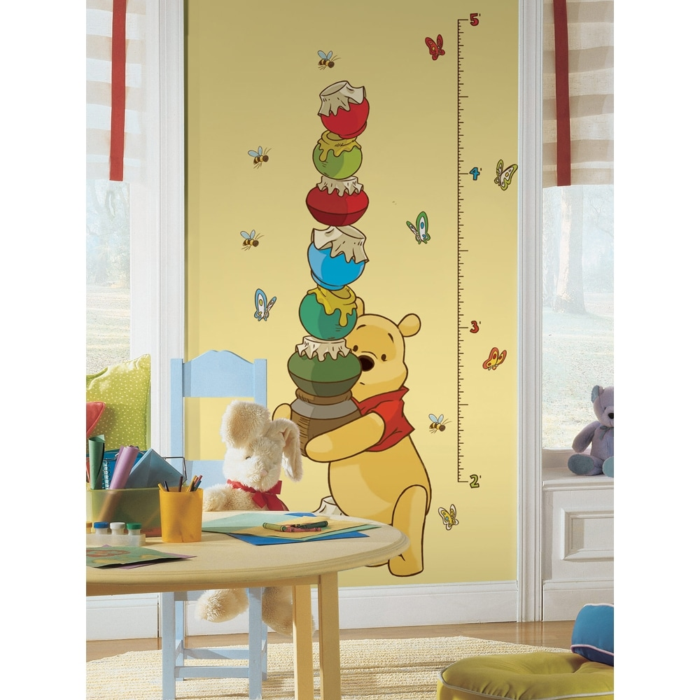 Shop Winnie the Pooh Growth Chart Peel & Stick Wall Decal Art - Free ...