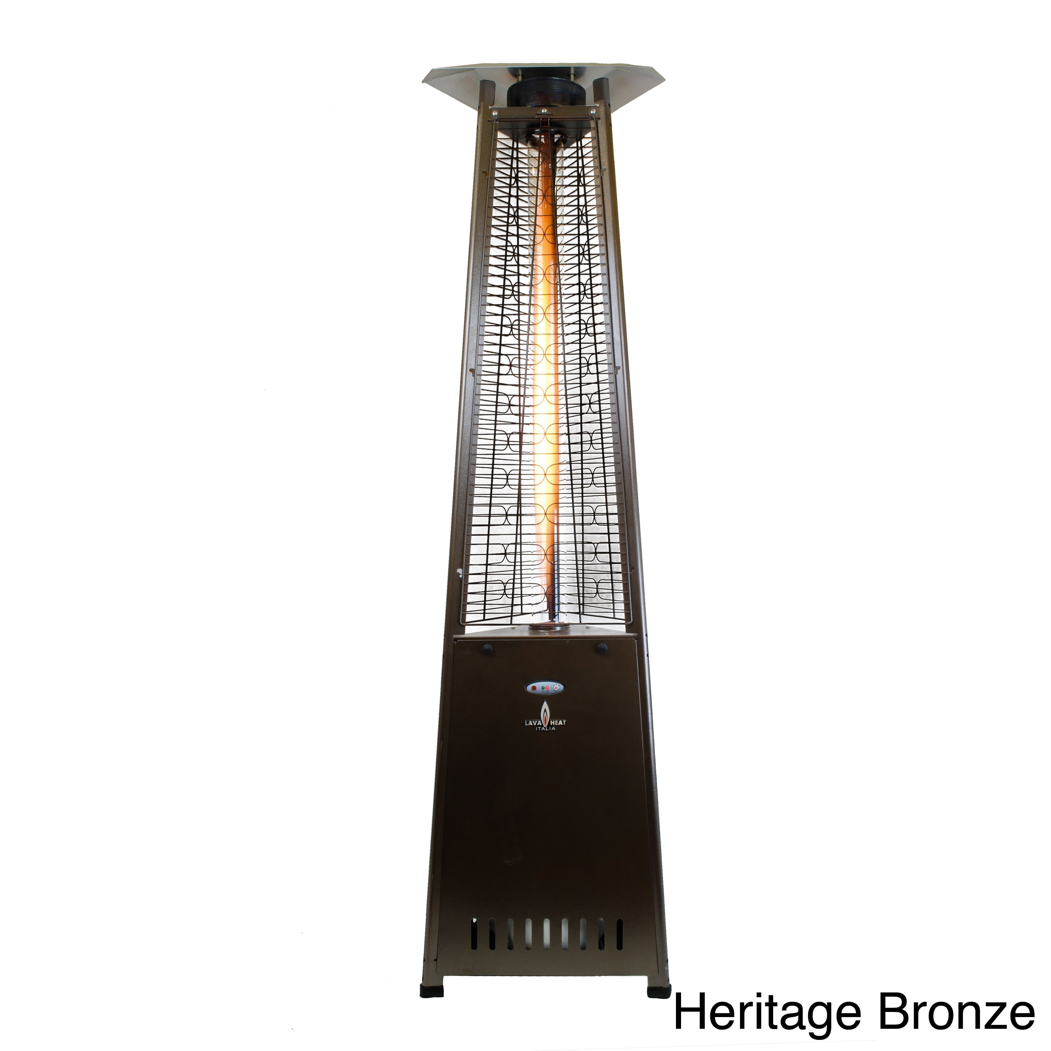 Shop Lava Heat 2G   66,000 BTU Commercial Outdoor Patio Heater   Free  Shipping Today   Overstock.com   7655444
