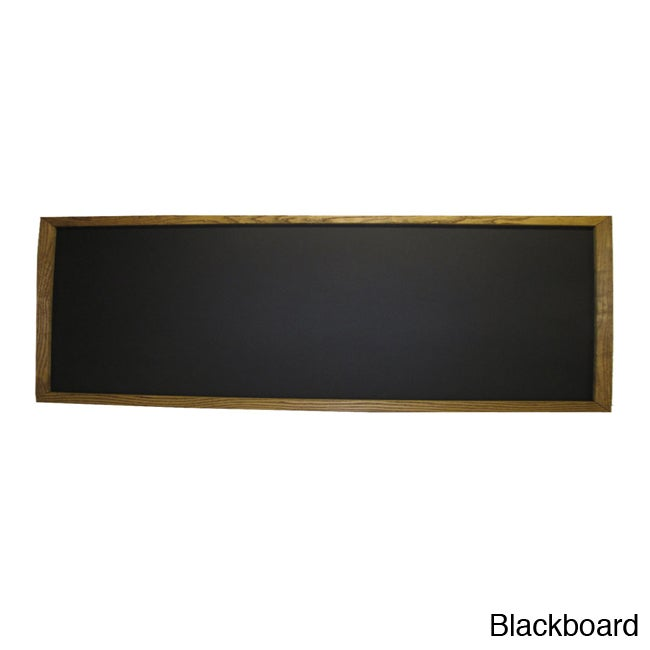 Shop Framed Green Chalkboard (24 x 72) - Free Shipping Today ...