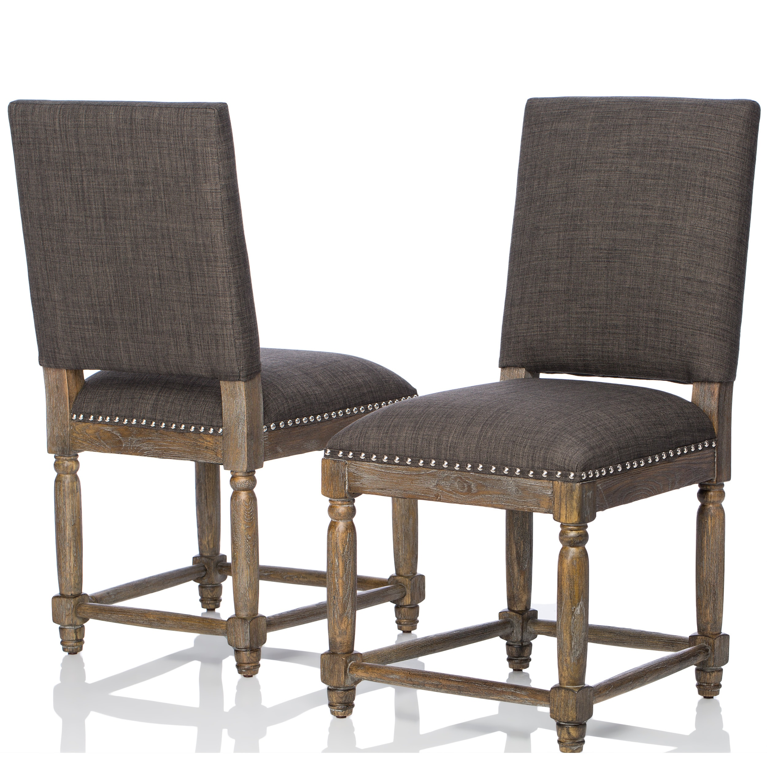 Renate Grey Dining Chairs Set Of 2 Free Shipping Today  # Muebles Dutailier