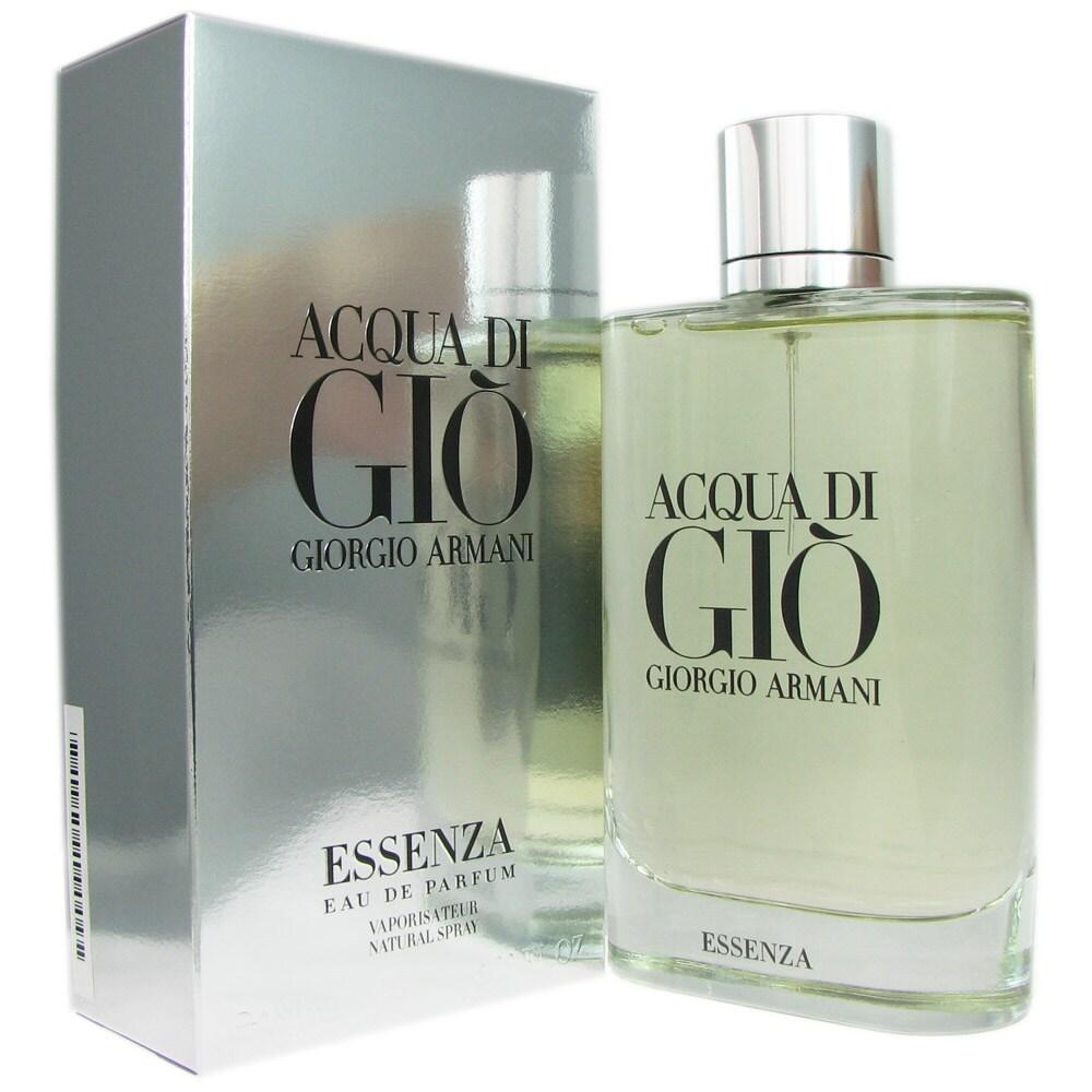 a587a57707cf Armani Acqua Di Gio Essenza Men s 2.5-ounce Eau de Parfum Spray. by Giorgio  Armani