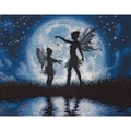 "Twilight Silhouette Counted Cross Stitch Kit-14""X11"""