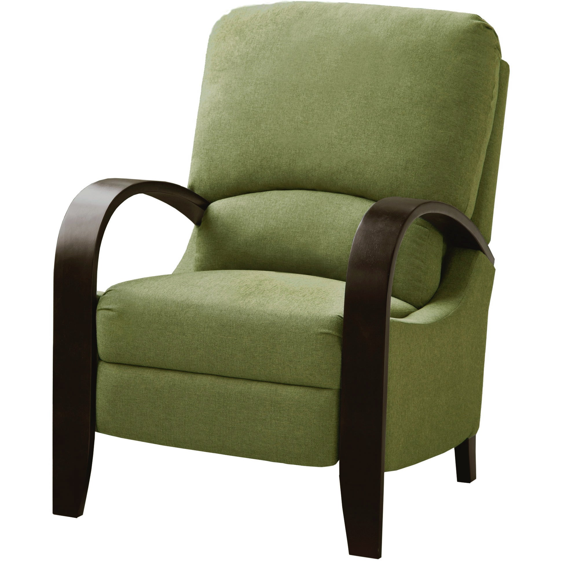 riverside green bent arm recliner free shipping today