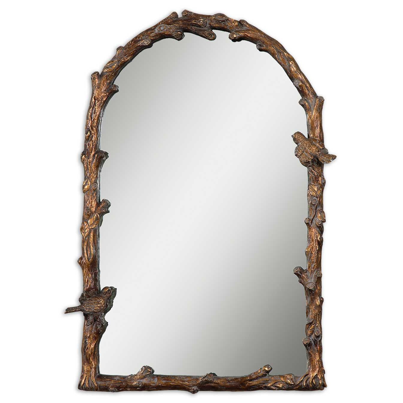 Uttermost paza antique gold branch framed arched mirror free uttermost paza antique gold branch framed arched mirror free shipping today overstock 15083964 jeuxipadfo Choice Image