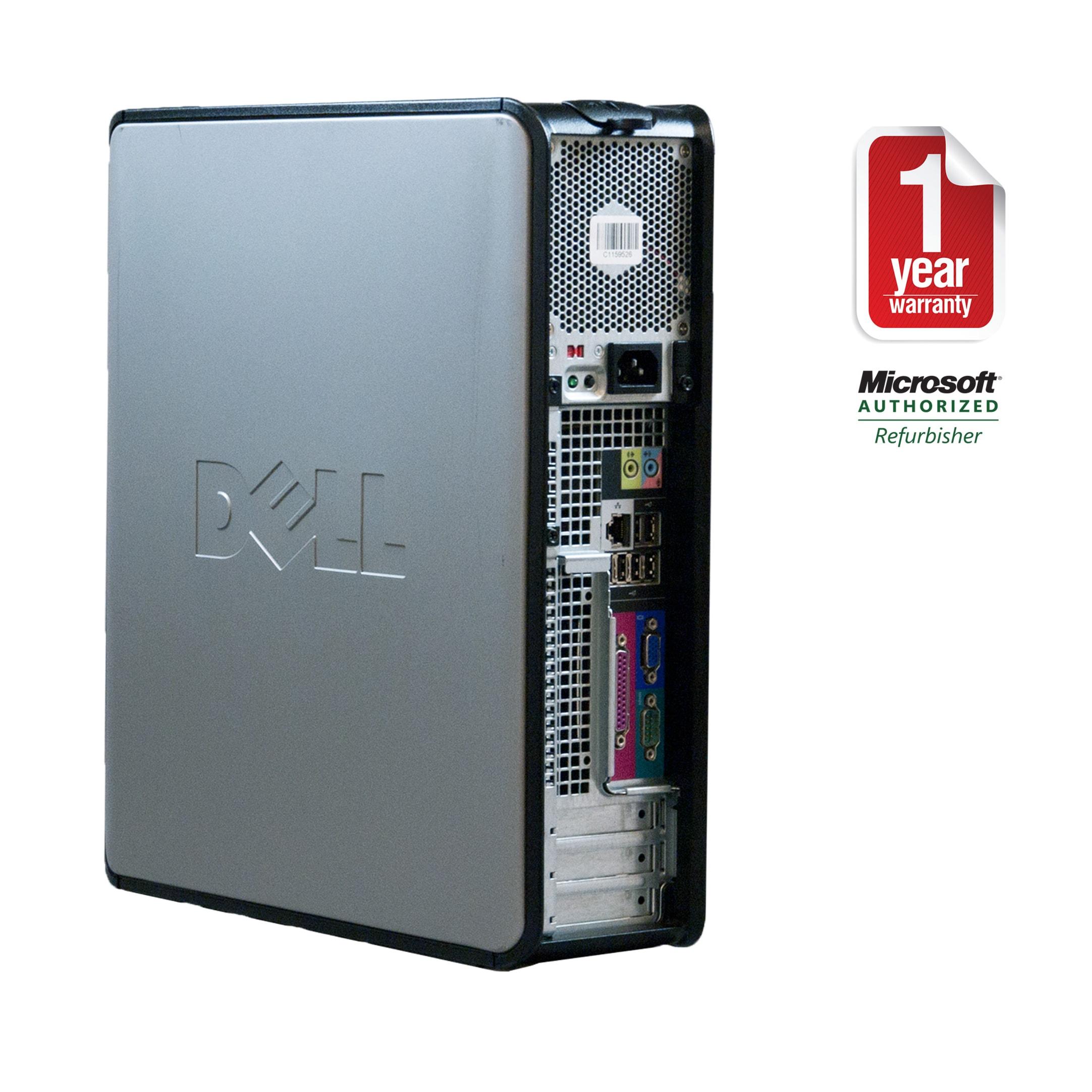Dell Optiplex 360 Intel Core 2 Duo 2 8GHz CPU 2GB RAM 160GB HDD Windows 10  Home Desktop Computer (Refurbished)